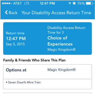 Coordinating the DAS and FP+ at Walt Disney World - Autism